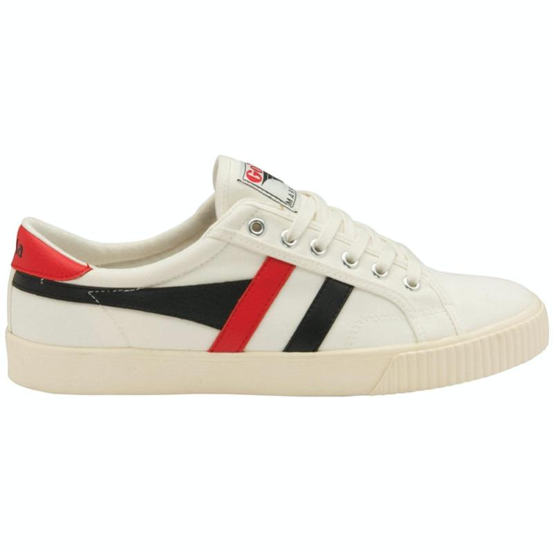 Tennis Mark Cox Trainer - Wht/Blk/Red