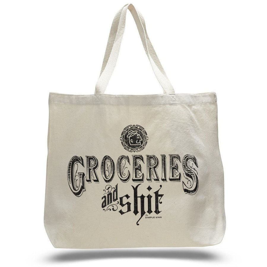 Groceries and Sh*T - Market Bag