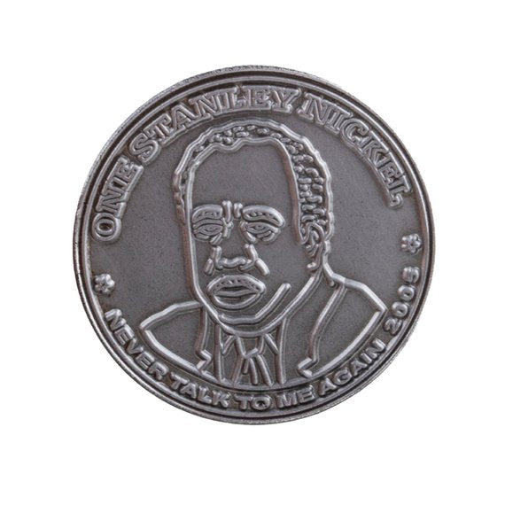 Stanley Nickel Enamel Pin