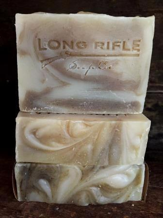Long Rifle Bar Soap 5oz - Bay Rhum