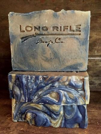 Long Rifle Bar Soap 5oz - Voyageur