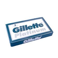 Gillette Platinum Double Edge Blade 5 Ct.
