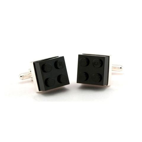 Lego Cufflinks- Black