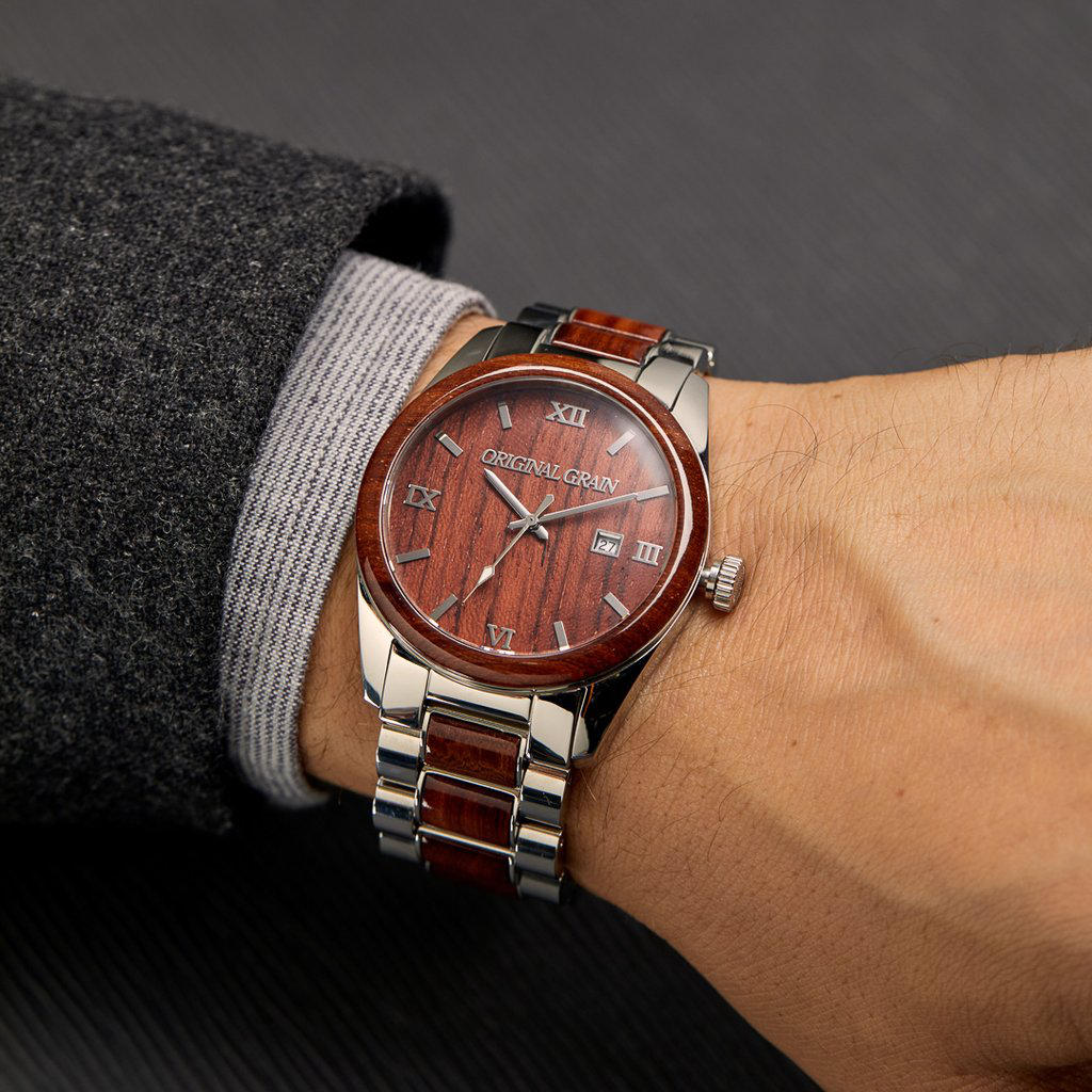 Rosewood Classic 43mm Watch