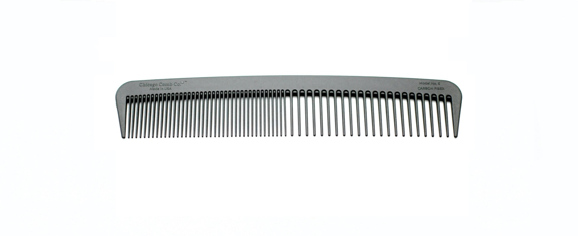Model No. 6 - Carbon Fiber comb