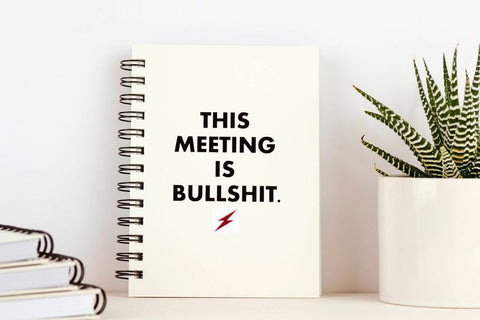 This Meeting is Bullshit - Journal