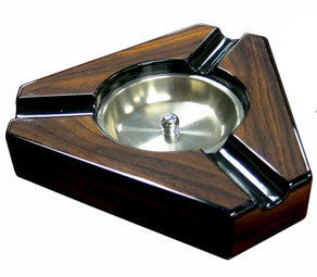 3 Cigar Triangular Ashtray