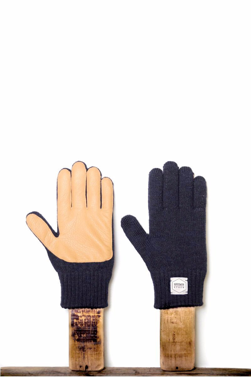 Ragg Wool Full Finger Gloves