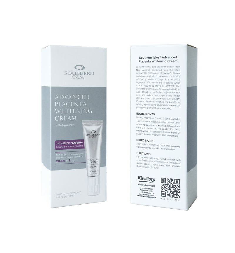 Advanced Placenta Whitening Cream - Kiwicorp New Zealand