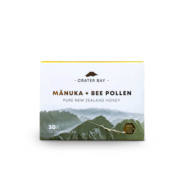 Manuka + Bee Pollen (30x5g Snap Packs) - KiwiCorp