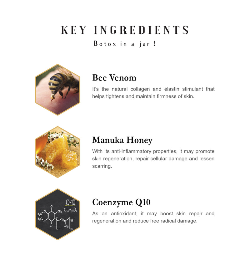 Bee Venom Mask + CO Q10