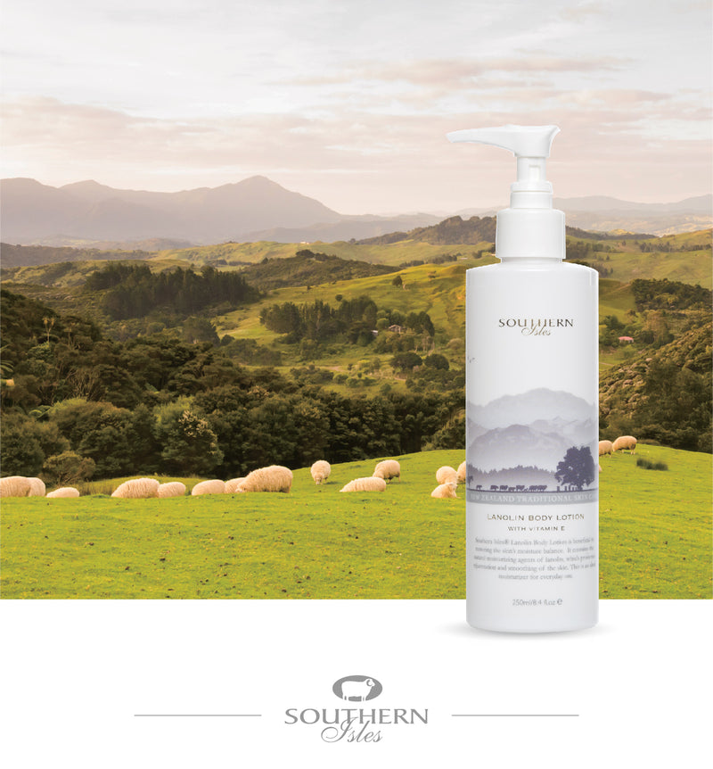 Lanolin Body Lotion - Kiwicorp New Zealand