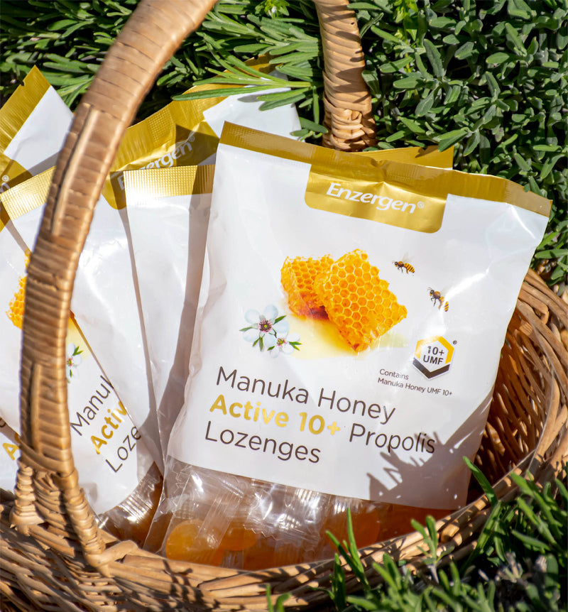 Manuka Honey Active 10+ Propolis Lozenges - Kiwicorp New Zealand