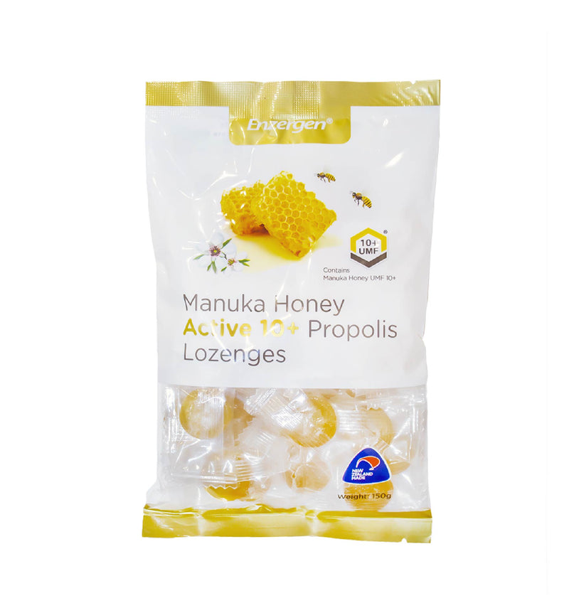 Manuka Honey Active 10+ Propolis Lozenges - KiwiCorp
