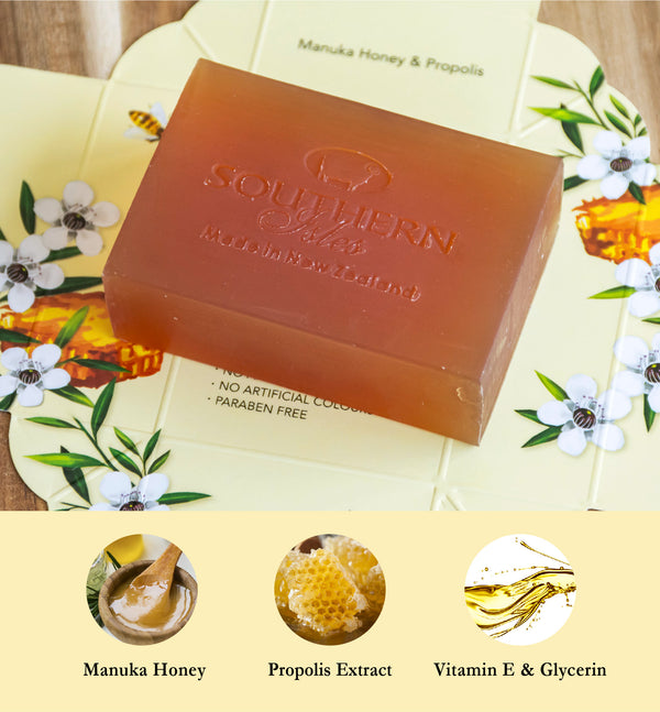 Manuka Honey & Propolis Soap - Kiwicorp New Zealand