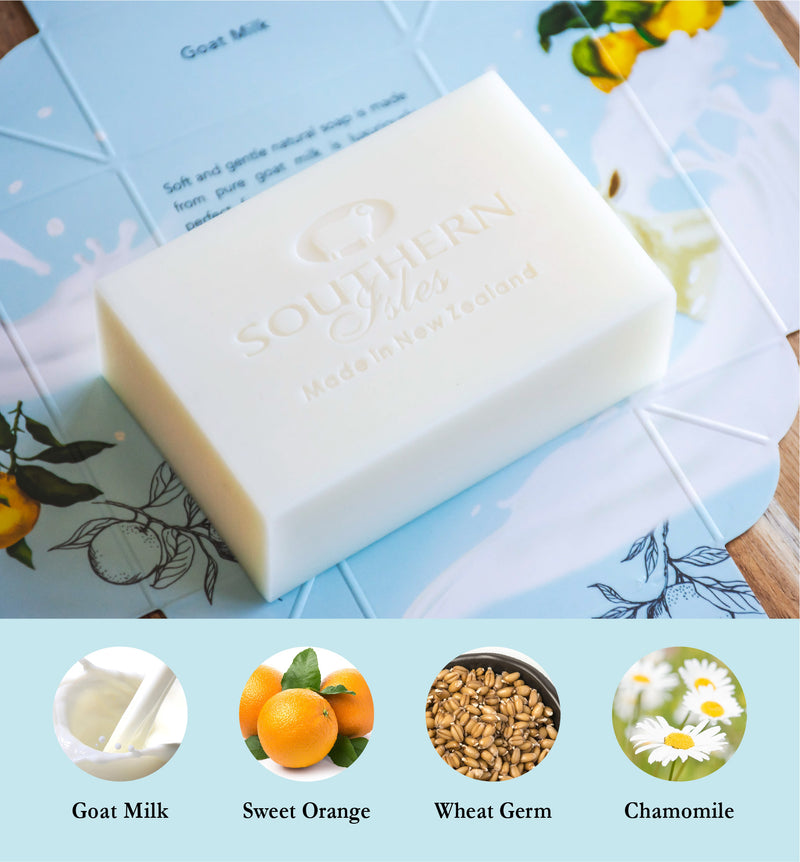 Goat Milk Soap - Kiwicorp New Zealand
