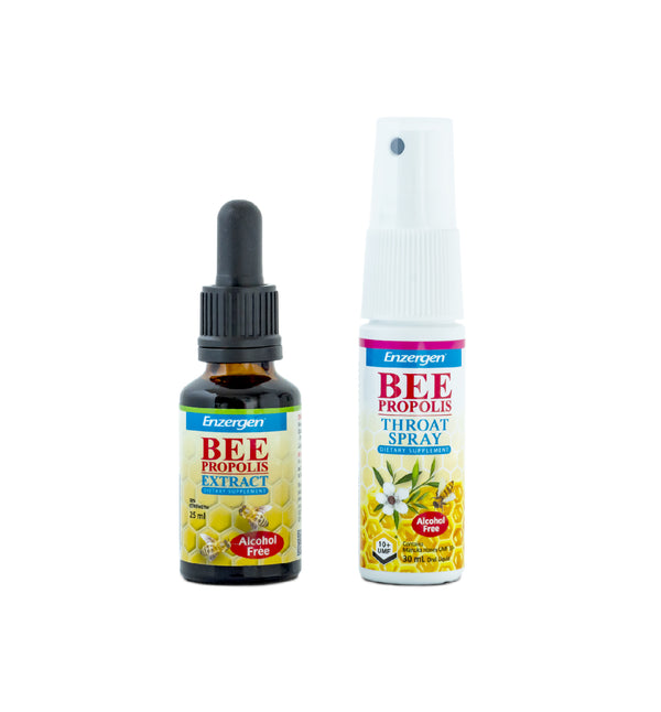 Bee Propolis Extract & Throat Spray (Alcohol Free)
