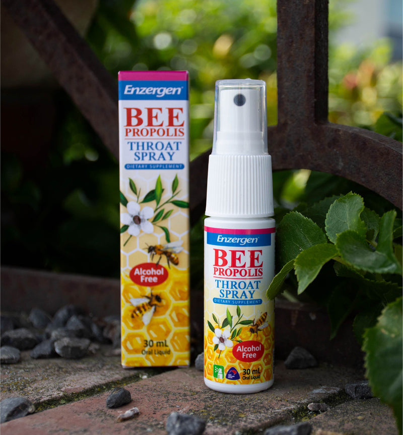 Bee Propolis Throat Spray (Alcohol Free) - KiwiCorp