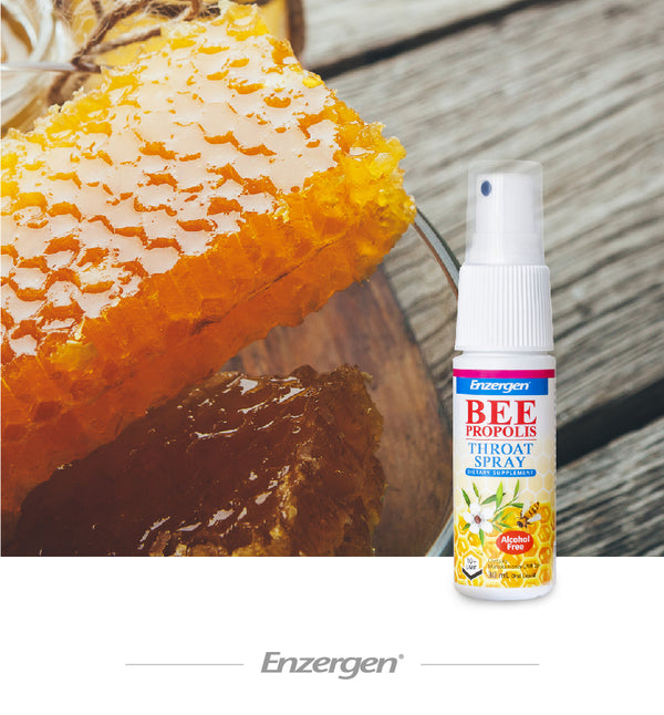 Bee Propolis Throat Spray (Alcohol Free) - Kiwicorp New Zealand