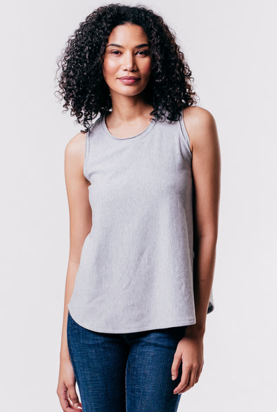 Jade Tank Fleece Poplin
