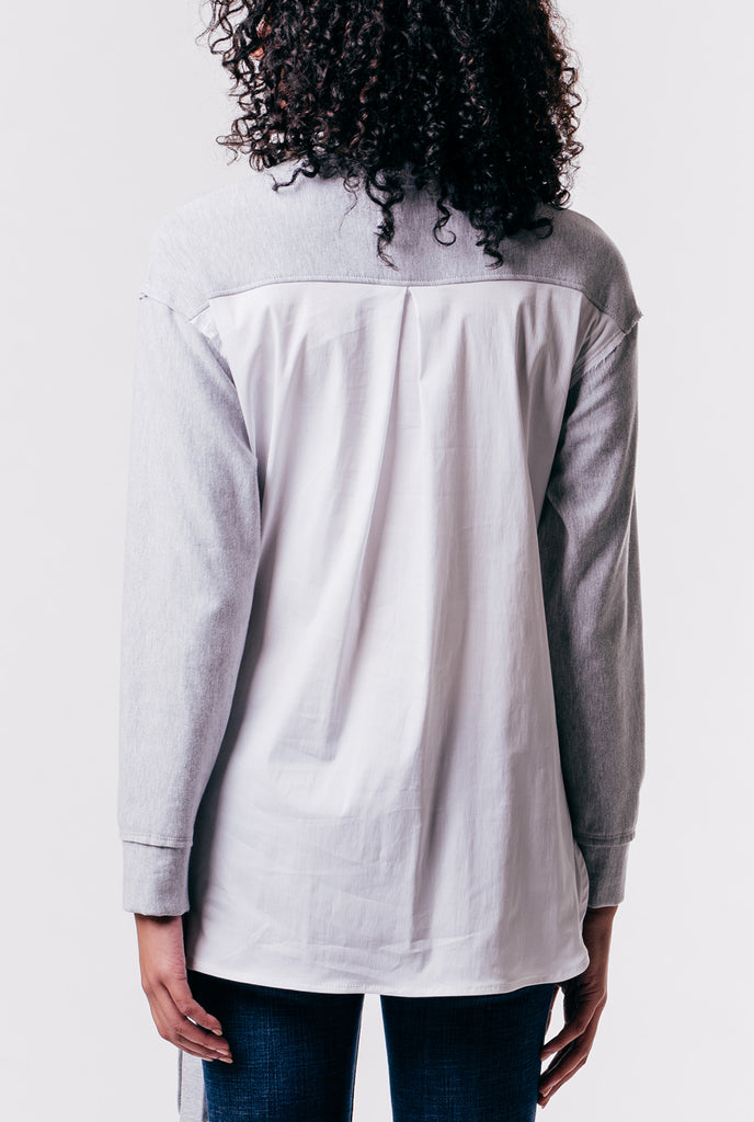 Paperwhite Fleece Poplin