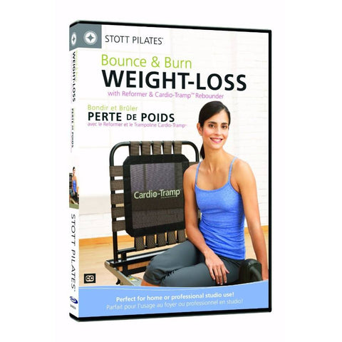 Merrithew Bounce & Burn, Weight Loss with Reformer & CardioTramp DVD, Stott Pilates
