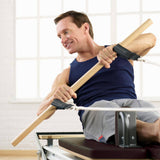 Merrithew SPX Max Reformer with Maple Roll Up Pole