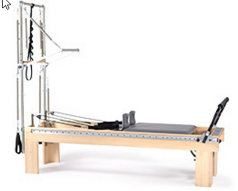 "Balanced Body Clinical Reformer 24"" Strata Pilates with tower_01"