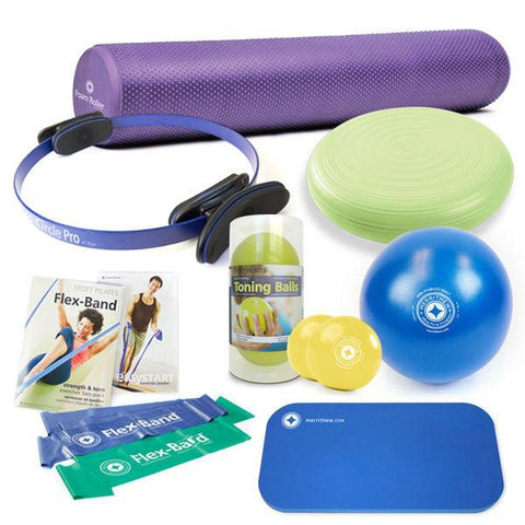 Pilates Accessories,Merrithew / Stott,Merrithew Pilates Essentials Kit,[product_sku],Pilates Flex Equipment - Pilates Flex Equipment