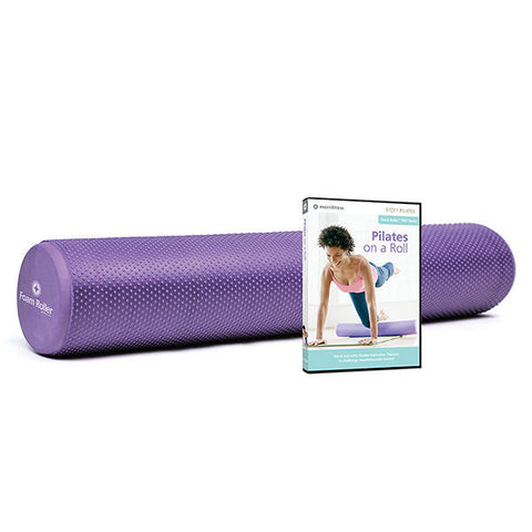 Merrithew Foam Roller™ Deluxe Kit (Purple), Stott Pilates, Massage Roller
