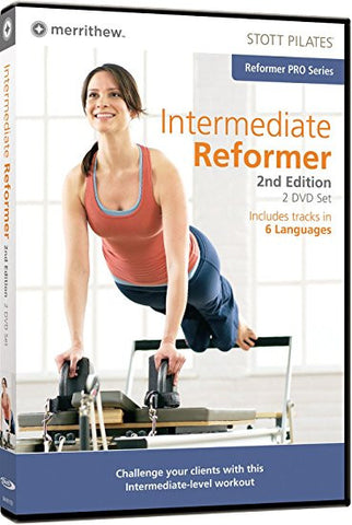 Merrithew Intermediate Reformer 2-DVD Set, Stott Pilates