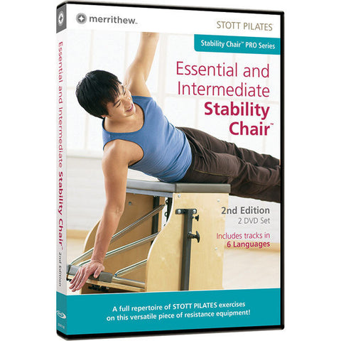 Pilates Accessories,Merrithew / Stott,Essential & Intermediate Stability Chair DVD,[product_sku],Pilates Flex Equipment - Pilates Flex Equipment