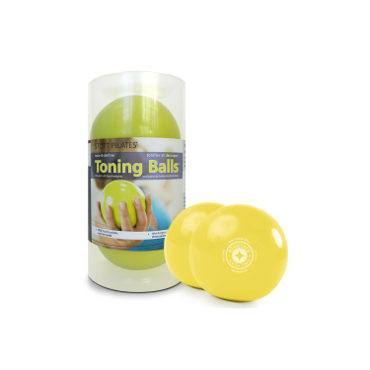 Merrithew Toning Ball™ Two-Pack 2 lbs (Lemon), Stott Pilates