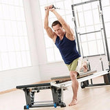 Exercises on the Merrithew Rehab V2 Max Plus Reformer