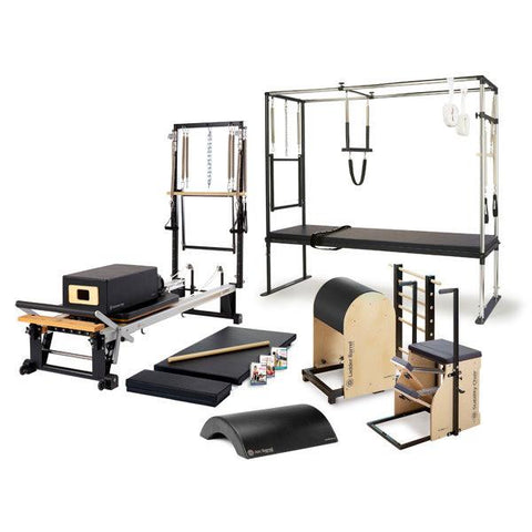 Merrithew Enhanced One-On-One Home Studio Bundle, Stott Pilates, Stott Reformer