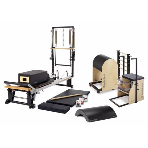 Stott Pilates, Stott Reformer, Merrithew One-On-One Studio Bundle for Home Pilates Studio