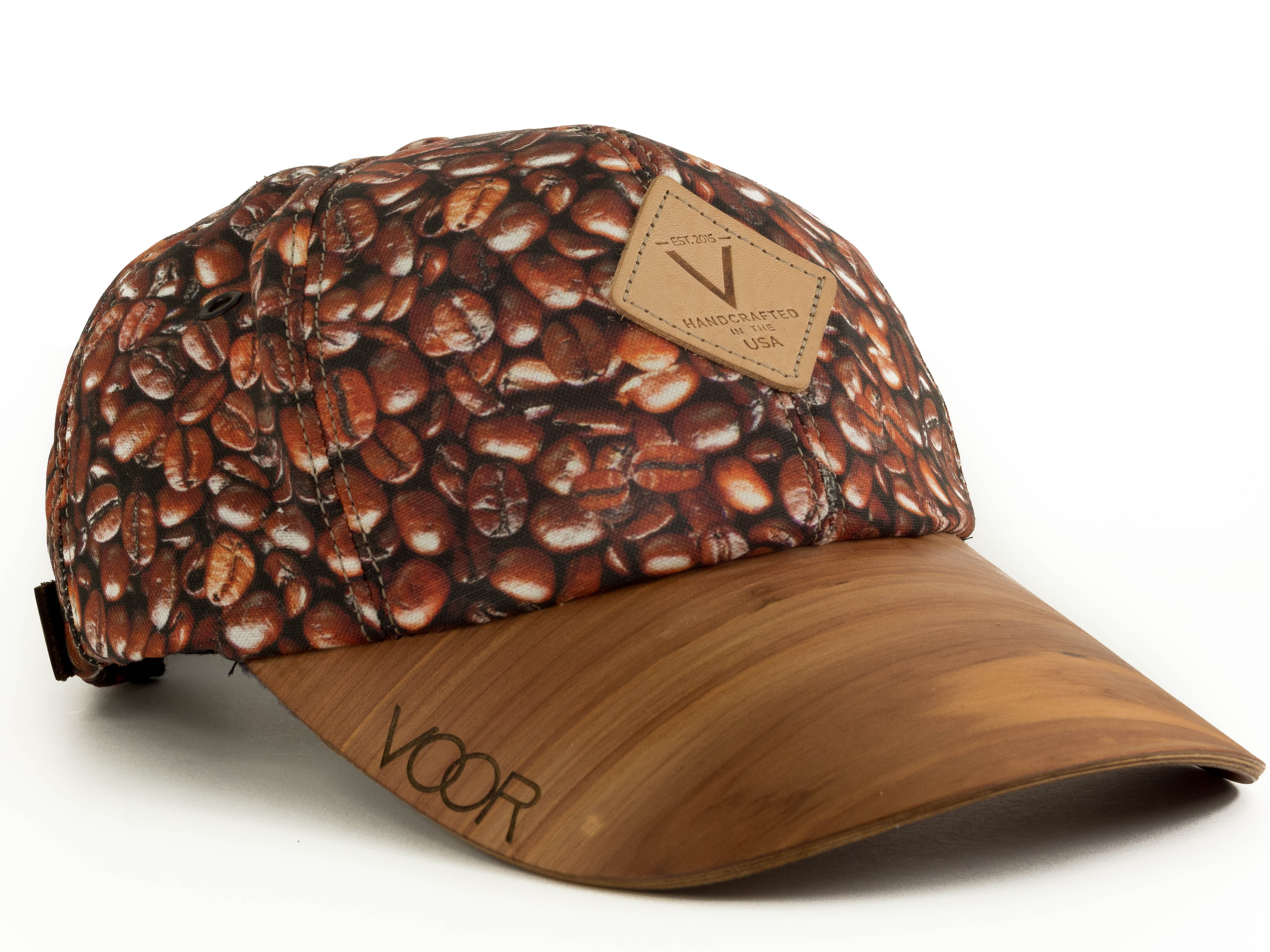 6-Panel | Coffee | Special Edition | Wood Brim Hat