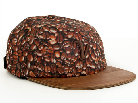 Trucker | Coffee | Special Edition | Wood Brim Hat