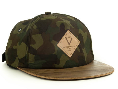Trucker | Camo | Wood Brim Hat