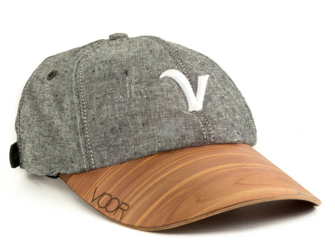6-Panel | Camo | Wood Brim Hat
