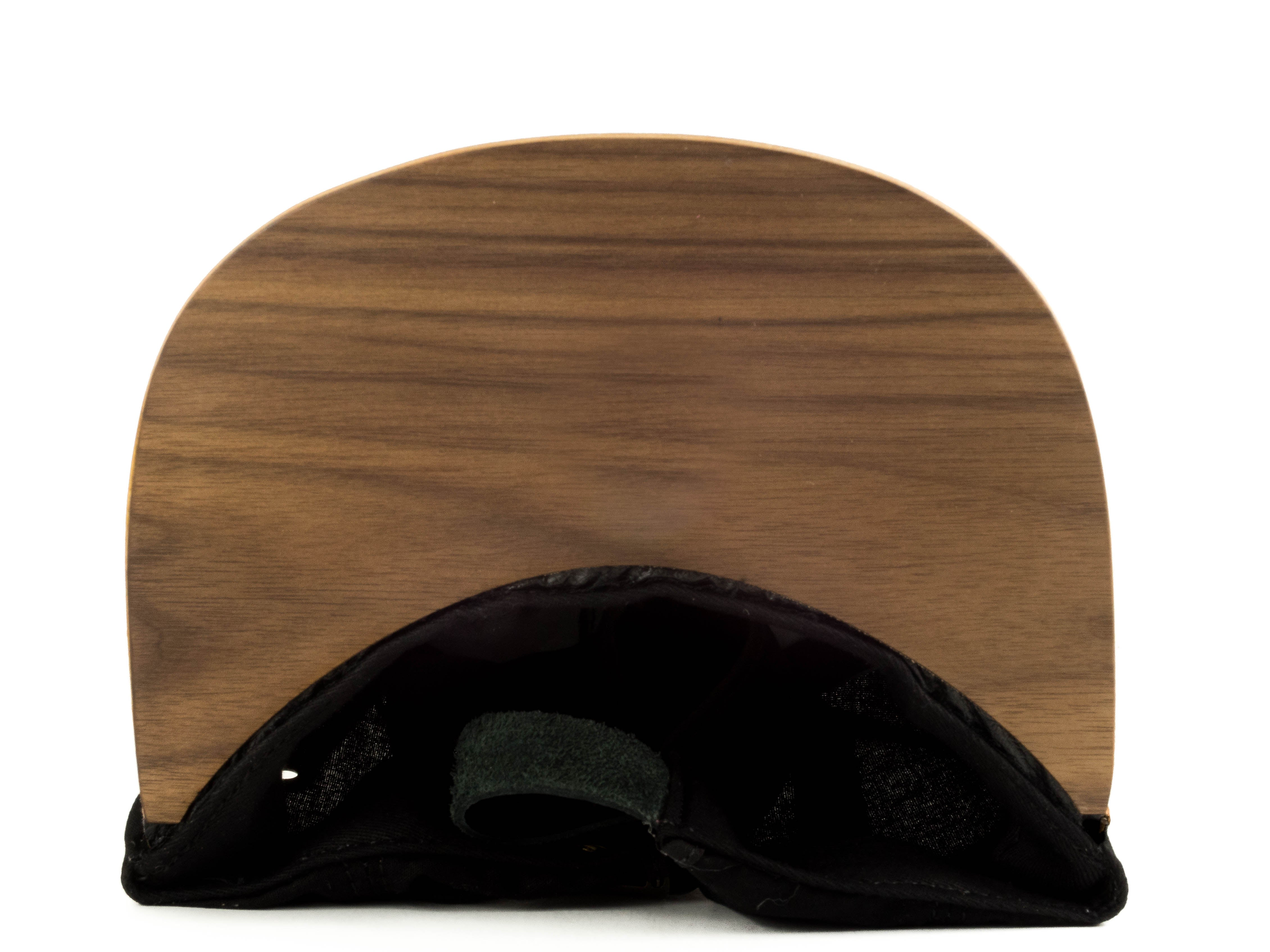 5-Panel | Raffia Kona | Wood Brim Hats