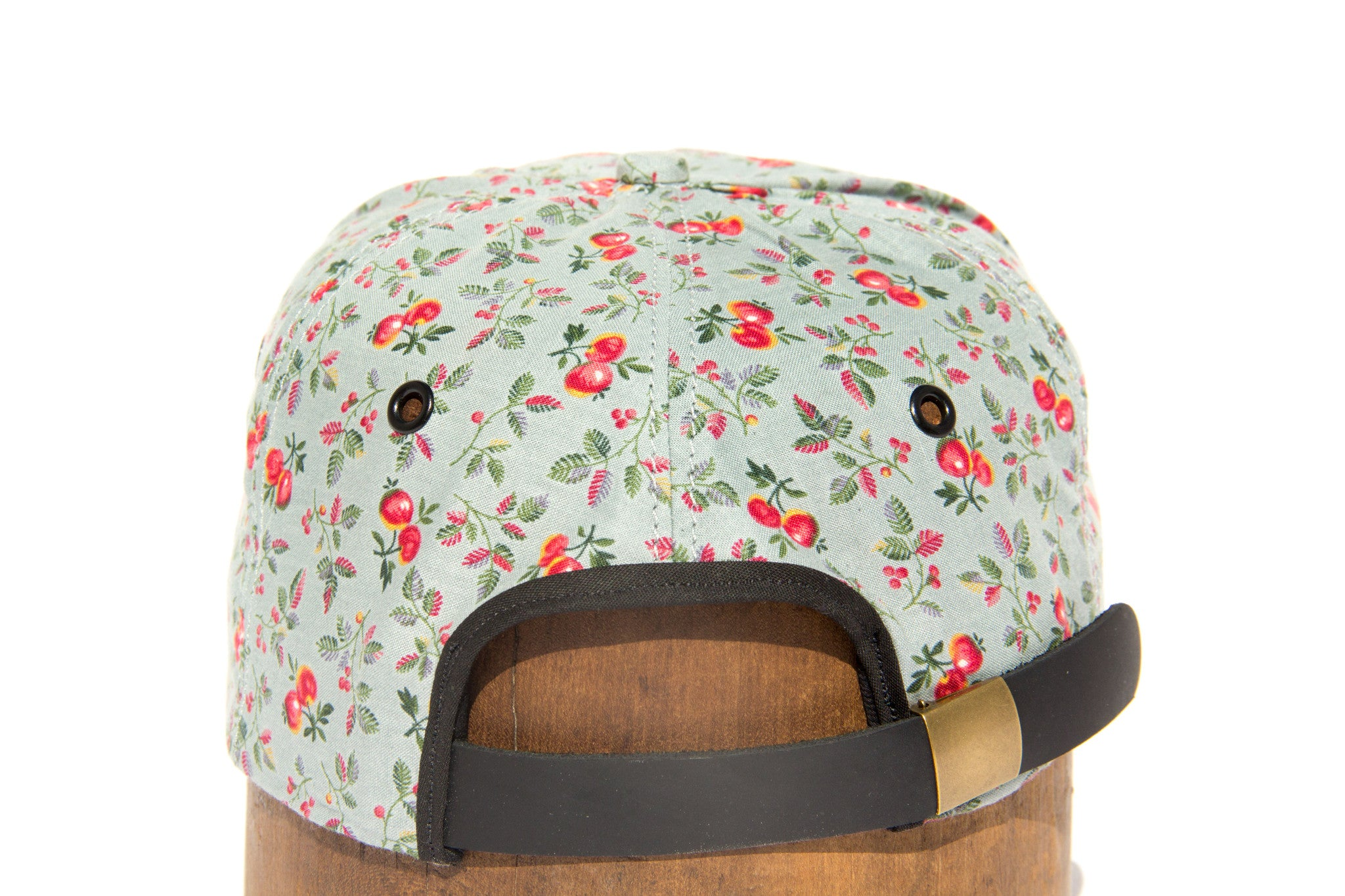Trucker - Floral - Wood Brim Hat