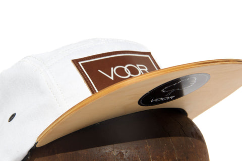 5 Panel - Technicolor - Wood Brim Hat