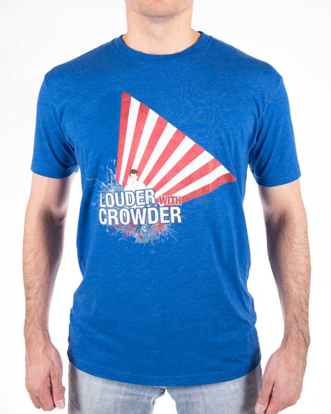 Louder with Crowder Flag Shirt