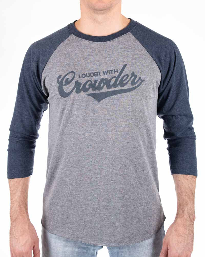Louder with Crowder Baseball Shirt (S.A.V.)