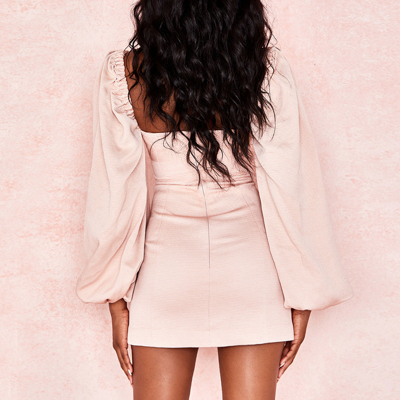 PETAL PUSHER MINI DRESS - Revossa