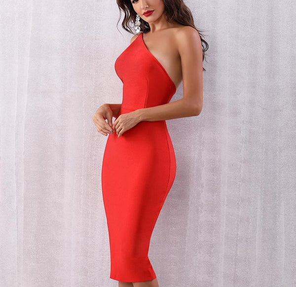 GET AWAY MIDI DRESS - Revossa