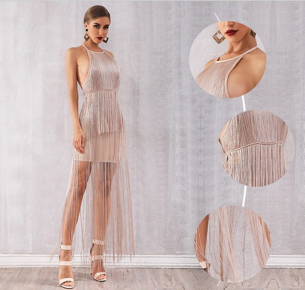 VENUS TASSLE DRESS - Revossa