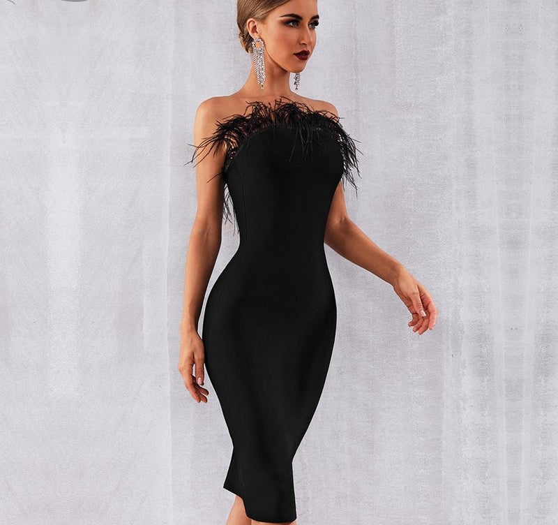 FANTASY DREAM MINI DRESS - Revossa