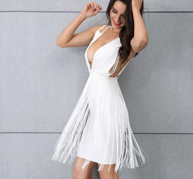 ANGEL TASSLE DRESS - Revossa